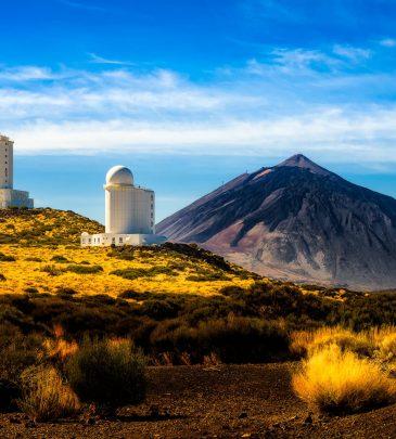 Tenerife-Teide-Observatory-sunny