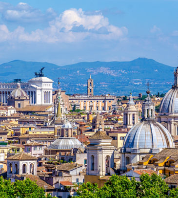 Beautiful-cityscape-of-Rome-taken-from-the-top-of-Castel-Sant-Angelo-Rome-Italy_324683966